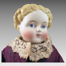 1870s Alt Beck Gottschalck Parian Bisque Doll 15 inches