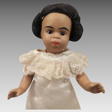 Gebruder Kuhnlenz All Bisque Doll Ethnic Brown 5.5 inch