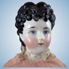 1870s-80s Alt Beck Gottschalck China Doll 16 inches