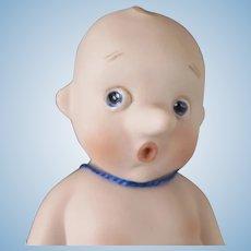 Bisque Baby Pinocchio or Bambolandia Pinocchiupi by Beatrice Perini
