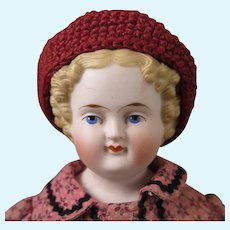 1870s Alt Beck & Gottschalck Blond Bisque  Parian Doll 14 inches