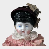 Antique Conta Boehme Fancy Chain Doll 15 inches