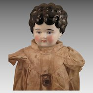 German Hertwig Petname Mabel China Doll 19 inch