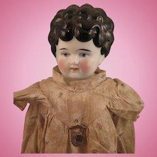German Hertwig Petname Mabel China Doll 19 inch