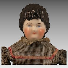 1860s Alt Beck Gottschalck ABG Spill Curl China Doll 16 inch