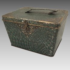 Biscuit Tin Huntley Palmers Snakeskin Purse