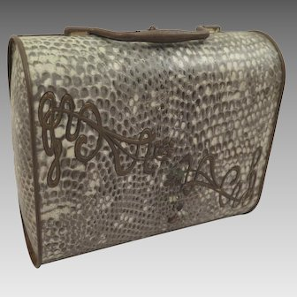 Biscuit Tin 1903-4 Huntley Palmers Snakeskin Purse