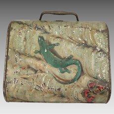 Biscuit Tin 1902-3 Huntley Palmers Lizard Purse