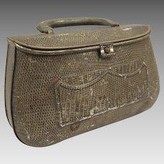 Biscuit Tin 1908 Huntley Palmers Lizard Skin Purse