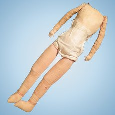 17 inch Doll Body for Boudoir or Bed Doll