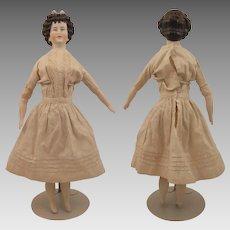 Vintage Limbach Irish Queen Bisque Doll 14 inch