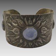 English Pewter Arts and Crafts Bracelet