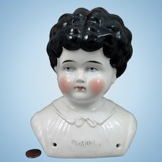 Hertwig Petname Marion China Head Huge 7 inch