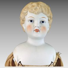 Late 1800s Kister Bisque Doll 20 inches