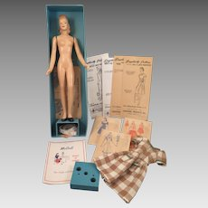 McCall Peggy Composition Sewing Manikin Doll 12 inches Simplicity
