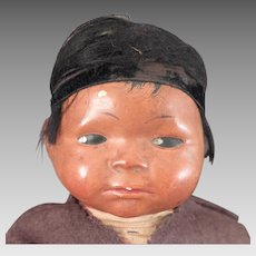 Skookum Composition American Indian Baby Doll 11 inches