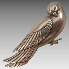 Vintage Norseland Coro Sterling Dove Brooch