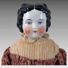 1880 Patent Bawo Dotter China Doll 19 inches