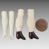 Vintage Bisque Replacement Arms Legs 1.5 inch
