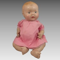 1920s-30s American Character Happy Tot Composition Doll 12 inches