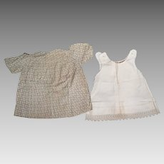 1920s-30s Dress and Slip for 26-28 inch Doll or Child