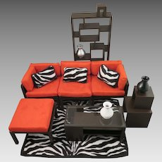 Randall Craig Home Furniture Living Room Set for Barbie