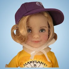 Dianna Effner Little Darling Merry Doll UFDC Region 11 Baltimore Convention Souvenir