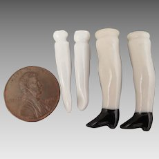 Vintage China Doll Replacement Arms and Legs 1-1.25 inch