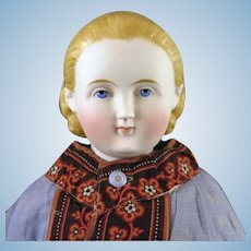 1860s ABG Alice Bisque Parian Doll 24 inches