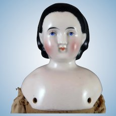 1860s ABG Alice China Doll 15 inches