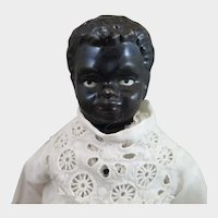 1880s Hertwig Black China Doll 12 inches