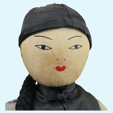 Chinese Cloth Doll 12 inches
