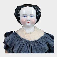1870 Big German China doll 29 inches