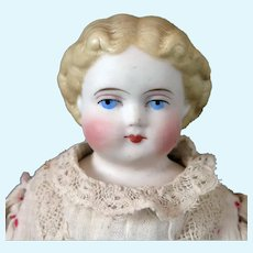 Antique ABG Bisque Doll All Original 10 inch