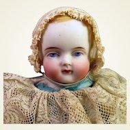 ABG Parian Bisque Boy Doll 11 inches