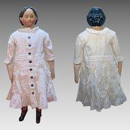 1858 Patent Greiner Papier Mache Doll 26 inches