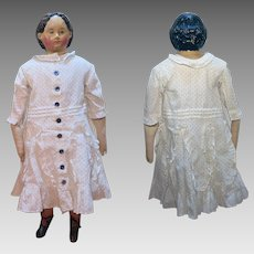 1858 Patent Greiner Papier Mache Doll 26 inches