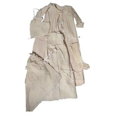 Victorian Baby Clothes Set Layette