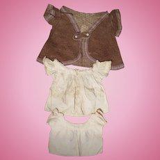 3 Pc. Victorian Baby Dress Set