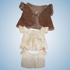 3 Pc. Victorian Baby Dress Set