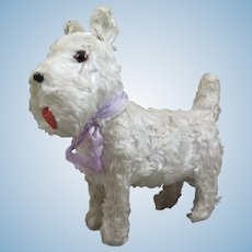 Scottie Dog Suchard Swiss Candy Container