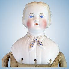 1870s Kling Bisque Parian Doll 18 inches