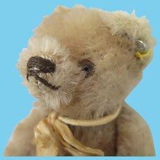 Vintage Steiff Blond Bear 5.5 inches