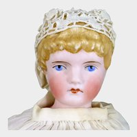 C.F. Kling Parian Bisque Doll 15 inches model 143