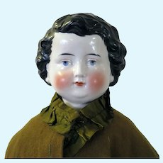 Antique German China Boy Doll 24 inches