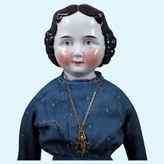 China Doll by A. W. Fr. Kister circa 1860s 24 inches