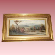 George McConnell 1905 Fine Antique Landscape Oil Painting
