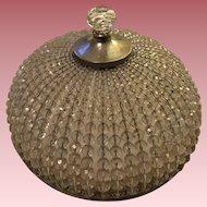 Vintage Czechoslovakian Beaded Glass Lamp Shade