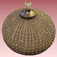 Vintage Czechoslovakian Beaded Glass Lamp Shade