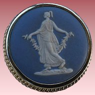 Wedgwood Pin Brooch Made in England